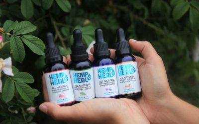 Hemp Heal tincture dosage guide