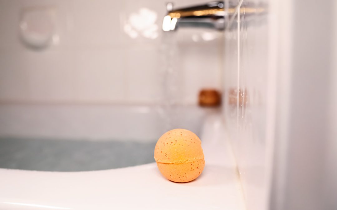 Hemp Infused Bath Bomb Benefits