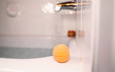 Hemp Infused Bath Bomb Benefits
